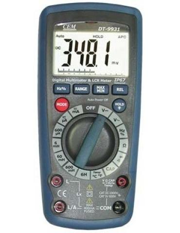 DT-9931 мультиметр и LCR-метр
