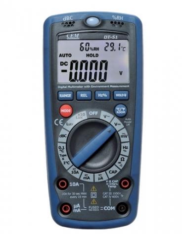 DT-61 Мультиметр 6 в 1