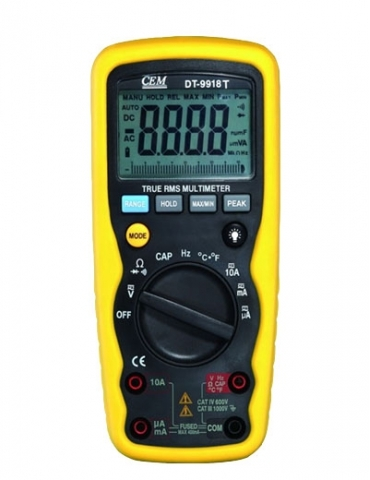 DT-9918T Мультиметр профессиональный