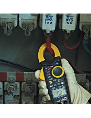 DT-3343 Токовые клещи для постоянного тока, с датчиком температуры