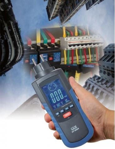DT-9054 Цифровой тестер УЗО, электропроводности и заземления